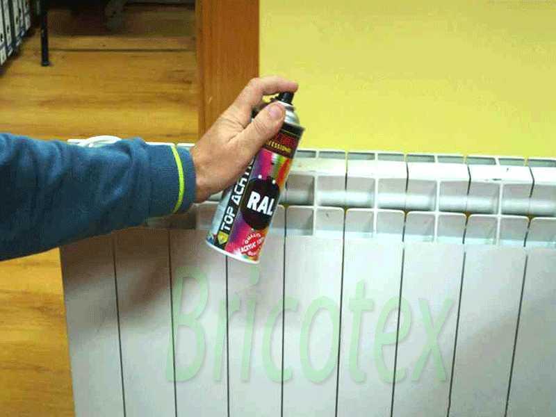 Pintar radiadores de hierro fundido best stunning como - Pintar aluminio lacado ...
