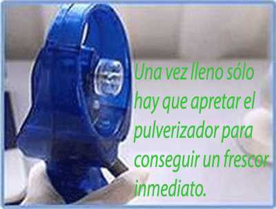 Mini Ventilador Pulverizador de Agua