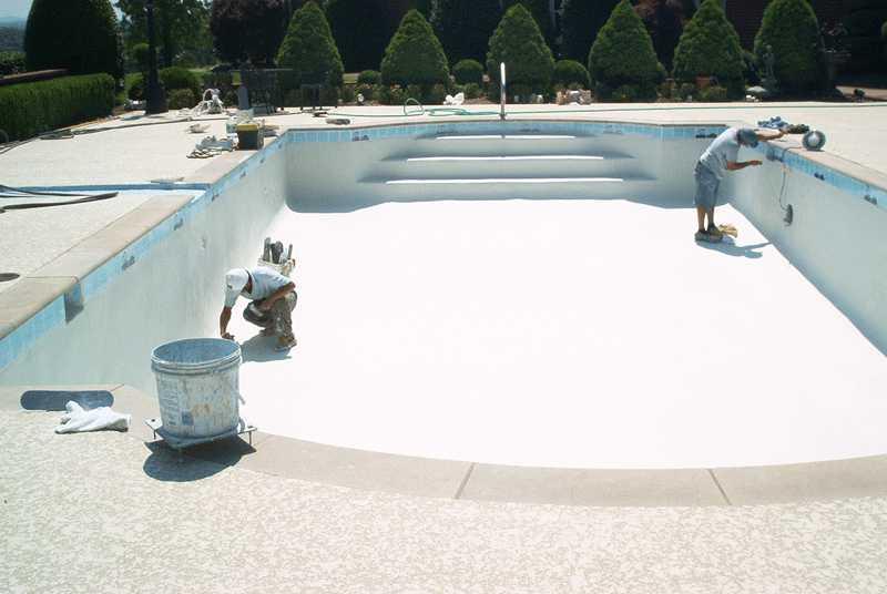 pintura para piscinas al agua
