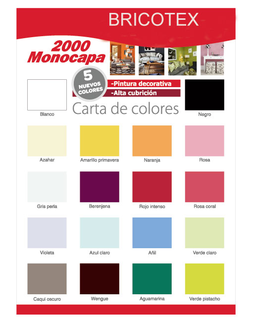 Pinturas valentine paleta colores paleta de color with for Paleta de colores pintura