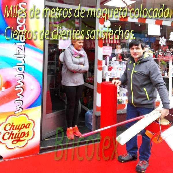 Rollo Moqueta/Alfombra Roja Ferial para Bodas y Eventos